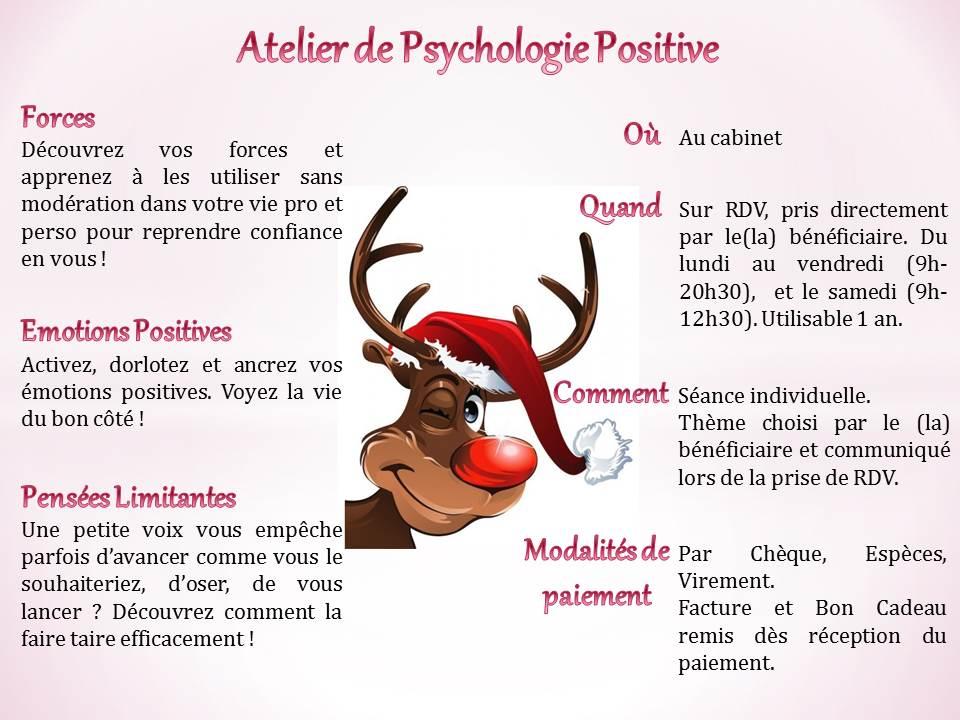 Atelier Noël Bien être Poissy